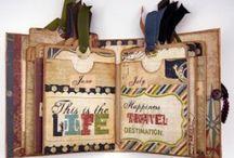 Mini Albums / Small handmade photo albums Mini albums Handmade books / by Patti Muma