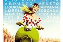 Travelling Italy: Vintage Ads / A collection of vintage posters about Italy and its beauties. / by Ulaola