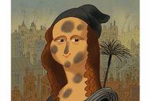 Mona Lisa / by Geri G