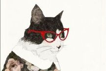 cats / by Scarlet Tentacle