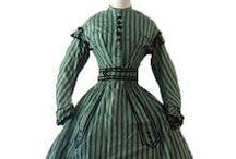 1860's fashion / by Jaana Seppälä