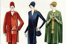 1920's fashion illustrations / by Jaana Seppälä