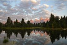 Grand Teton National Park Gallery by Bryan Carnathan / Grand Teton National Park Images / by The-Digital-Picture.com