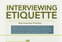 Career Etiquette & Job Interviews / by EU Talent & Careers