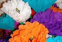 Flowers - Mexican Paper / by Ellen Callahan