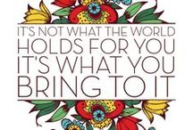 Words. / by Melanie Hernandez