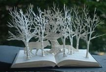 Book Crafts / Crafts and projects using vintage books and paper,  upcycling crafts at its best! / by Brandy Davis