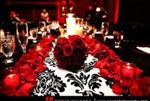 My Red White and Black Wedding!!! / by atondriaus reed