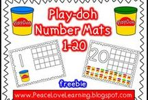 Kinder Math Activities / by Hannah Taylor