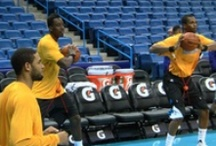 PreGame Warmup / New Orleans Pelicans warming up before games. / by Bourbon Street Shots