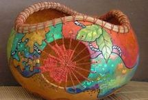 Gourds-Art & Decoration / by Miriam Perez