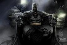 I am Vengeance. I am the Night. / Batman board / by Al Smith