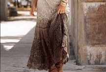 Crochet & Knit - all skirty / don't wait - knit, crochet your own skirt / by Beata D.