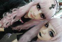 Scene hair  color Emo hair color / Beautiful hair ;) / by ✝Jia Fei Reeves✝