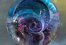 ART: Glass  / I love the beauty of art glass / by Joy Bathie