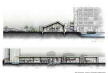 Arch | Drawings / Architecture Drawings, Artwork, sketches, presentation drawings / by The Flying Buttress | Nicole Sieben