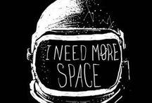 Astronaut / O  Going boldly into the void between celestial bodies ☽  professional space travelers  O / by Diane Manton ✤