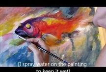 How to --painting tutorials / How to-- painting tutorials / by Judy Stevenson