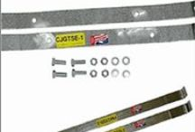 Gas Tank Straps for Ford, Chevy, GMC, Jeep and International vehicles / When replacing your plastic or steel gas tank, do the job right with a new set of gas tank straps from Gas Tank Depot. We offer replacement gas tank straps for Ford, Chevy, GMC, Jeep and International vehicles. / by Gas Tank Depot