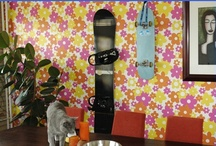 Boarddocks on the wall / Boarddock.com - Snowboard Wall Mount / by Board Dock