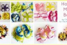 HAIR BOW-BOWS Community Board!!! / Different techniques for HAIR BOW-BOWS!! / by TG Montague