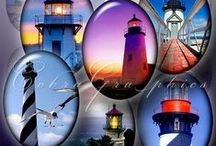 GUIDING LIGHTS / All about Lighthouses / by Harley Trikker 5547