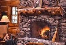 COZY FIREPLACES / by Harley Trikker 5547
