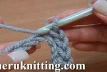 Crochet Basics. Tutorials for Beginners. / We invite you to the exciting world of crocheting. In our series of Tutorials for Beginners you will find everything you need to start your very first project and to create a masterpiece by yourself. You will learn the basic stitches, learn how to crochet a chain stitch and make a foundation chain. You will learn how to single crochet (sc), half double crochet, double crochet, treble crochet, double treble crochet and make even taller stitches. In this series of Tutorials for Beginners you will  / by SHERU Knitting
