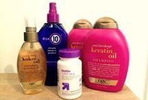 Hair / Hair Styles and Healthy Hair Tips / by Lucinda O'Connor
