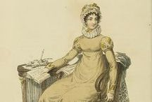 Regency Fashion Prints / Vintage prints from the Regency era  / by Cara Elliott