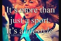 Cheer!!! / Be so good they can't ignore you   / by Abbey Miller