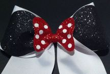 Cheer Bows <3 / Cheer Bows are my Tiaras  Bows before Bros / by Abbey Miller