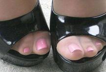Pantyhose-Toes-Shoes / Pantyhose - Toes - Heels / by Joe Fire