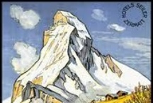 Vintage posters / by Zermatt - Matterhorn