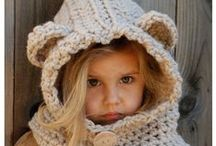 Crochet Juvenile Caps & Hats / For the kids. / by Patricia Kennard