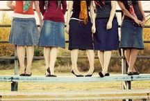 Modest, feminine clothing / Clothing that is pleasing to the Lord. / by Sarah Stevens
