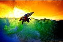 Surf,Skate and Summer  / by Mikaela Benedict