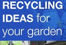 Garden & Outdoor - Reuse & Repurposing! / Upcycling, Reuse & Repurposing in the Garden and Other Outdoor Areas! / by Second Chance Inc.
