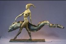 Contemporary Sculptures & Carvings / by Kicking Bull Gallery