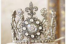 Royals : Tiara and Crown  / King and Queen's Tiara and Crown / by Hansa Tingsuwan