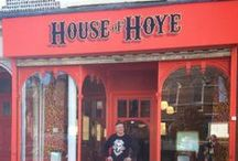 House of Hoye / The store is open at 22a Ship St Brighton, come in for new designs from Jeremy Hoye and commissions plus carefully chosen pieces from up and coming designers selected by Jeremy himself. / by House of Hoye