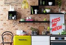kitchen + dining / by Julie Stafford