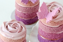 Wedding Ideas - Cakes / Get snapshot inspiration for a masterpiece that will go down a treat. Whether you want to go for a romantic & pretty aesthetic, a classy signature look or a bold theme (sure to entertain!)... You deserve a beautiful cake!  / by Serene H