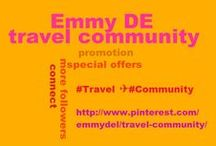#Travel ✈ #Community / #Travel #agencies, #hoteliers, #airlines, #tourist information offices…this is your board! PROMOTE YOUR #TOURISM #BUSINESS HERE! Feel free to pin your #offers, #special #rates or best travel pictures. Travellers will find useful links. Due to spam please NO invites! For invites leave a comment on  http://www.pinterest.com/pin/5277724538632796/ Thank you for your cooperation and now enjoy Pinterest's growing travel community! / by Emmy DE