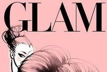 * Glam * / wallow in #luxury * #glamorous * #glitzy * #pomp * #expensive * #posh * #classy * #ritzy * #lush * / by Emmy DE