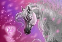 Artwork~Equines / by Ephphatha