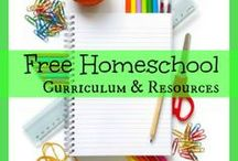 Free Curriculum Resources / Free homeschool curriculum resorces / by CHEWV
