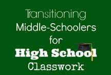 Middle/Highschool helps / Home school resources for middle school and high school. Homeschool help. / by CHEWV