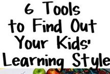 Learning Styles / How to teach to your children's individual learning style. / by CHEWV