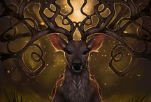 Artwork~Woodland Creatures / by Ephphatha